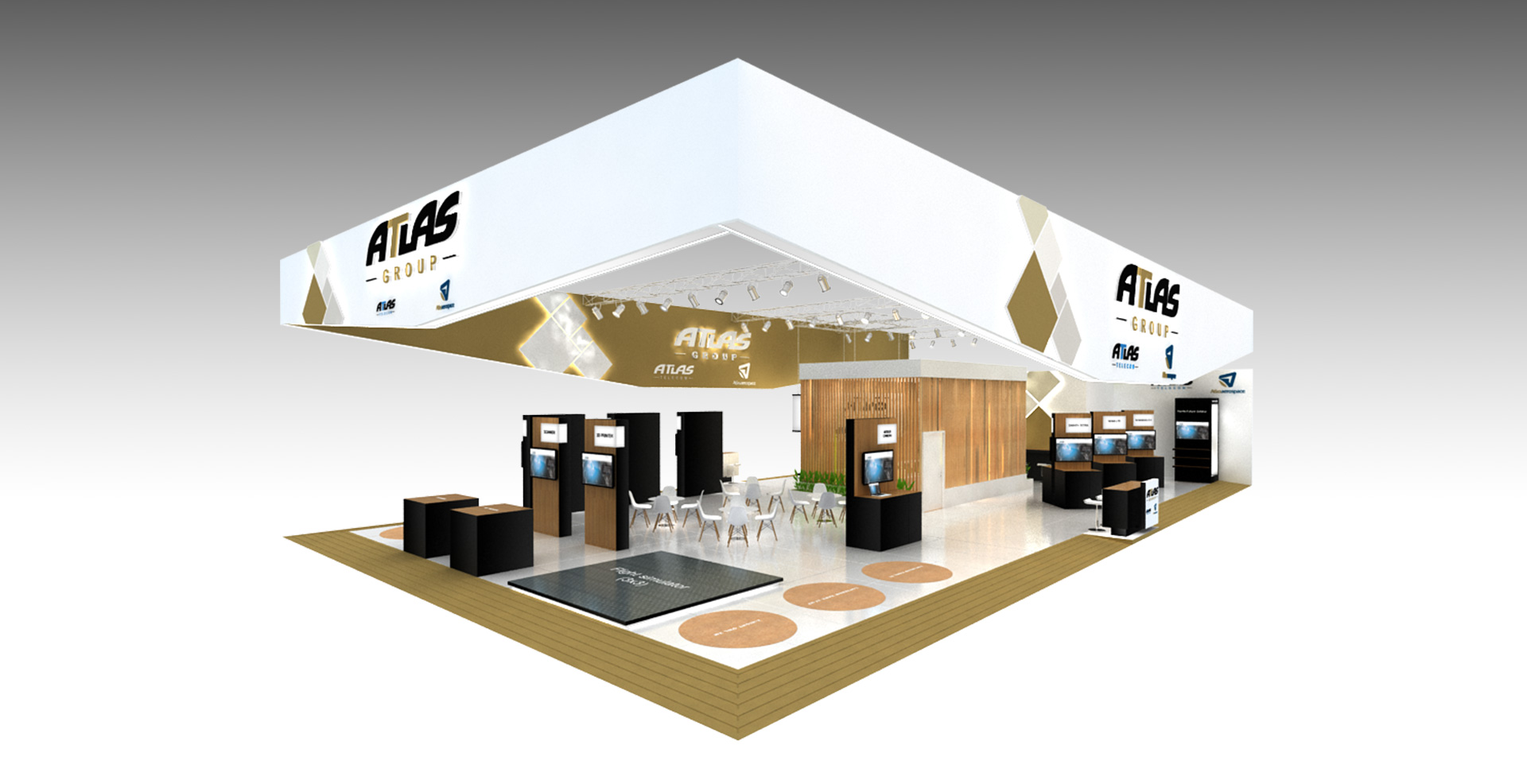 Sungard Exhibition Stand Stands For : Exhibition stand design and production boundless